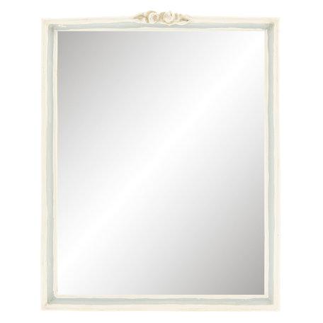 Spiegel 22*2*28 cm Wit   62S143   Clayre & Eef