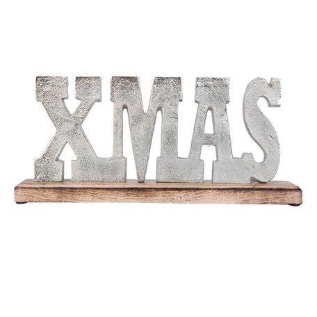 Decoration Xmas 33*4*10 cm Bruin | 63399 | Clayre & Eef