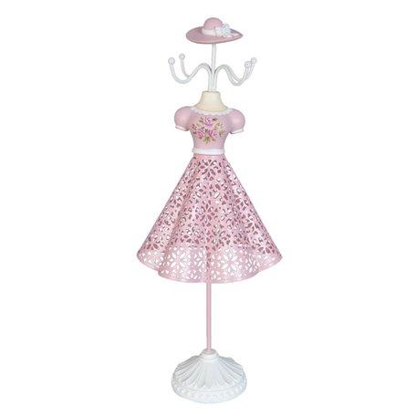 Juwelenhouder 14*10*35 cm Pink | 63634 | Clayre & Eef