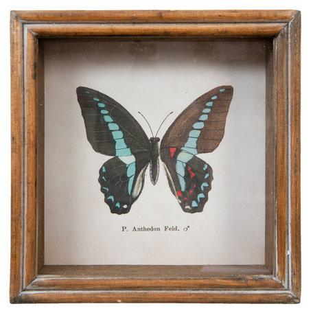Schilderij 18*5*18 cm Bruin | 63730 | Clayre & Eef