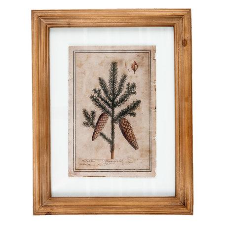 Schilderij 36*2*46 cm Meerkleurig | 63841 | Clayre & Eef