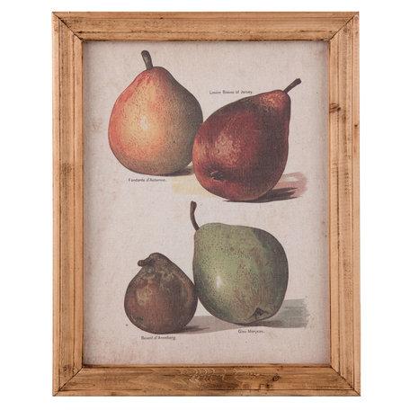 Schilderij 35*2*45 cm Meerkleurig | 63894 | Clayre & Eef