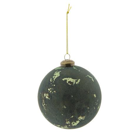 Kerstbal ø 10 cm Groen | 6GL2291GR | Clayre & Eef