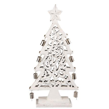 Kerstboom 27*9*50 cm Wit | 6H1533S | Clayre & Eef