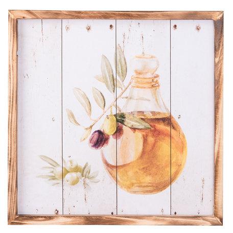 Schilderij 40*2*40 cm Multi | 6H1658 | Clayre & Eef