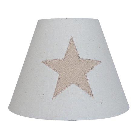 Lampenkap ø 20*15 cm Beige | 6LAK0349 | Clayre & Eef