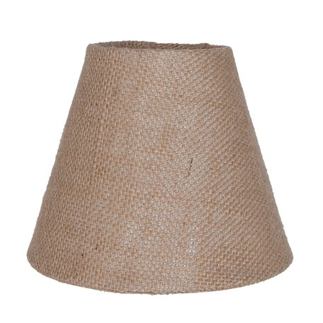 Lampenkap ø 15*12 cm / E27 Bruin | 6LAK0359 | Clayre & Eef