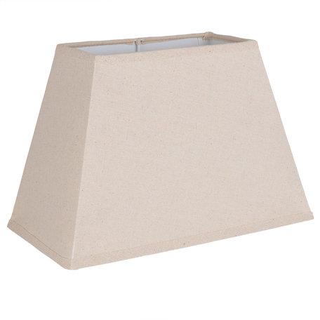 Lampenkap 30*16*20 cm Beige | 6LAK0419 | Clayre & Eef