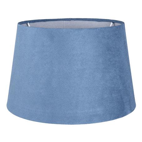Lampenkap ø 25*15 cm Blauw | 6LAK0441M | Clayre & Eef