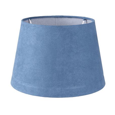 Lampenkap ø 20*13 cm Blauw | 6LAK0441S | Clayre & Eef
