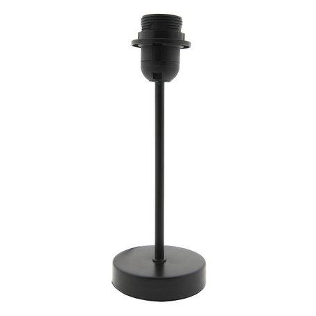 Lampenvoet 9*9*26 cm E27/max 1*40W Zwart   6LMP579M   Clayre & Eef