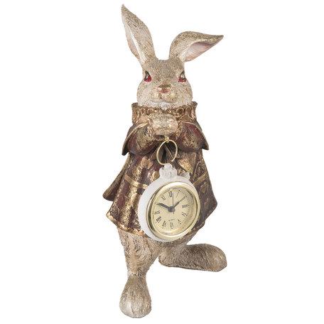 Decoratie konijn 14*13*25 cm Meerkleurig | 6PR1253 | Clayre & Eef