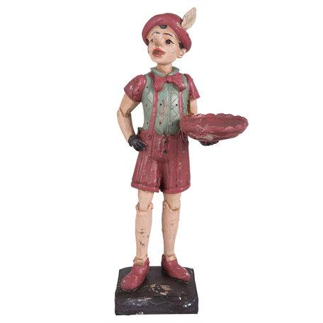 Decoratie figuur Pinokkio 14*10*31 cm Meerkleurig | 6PR1254 | Clayre & Eef