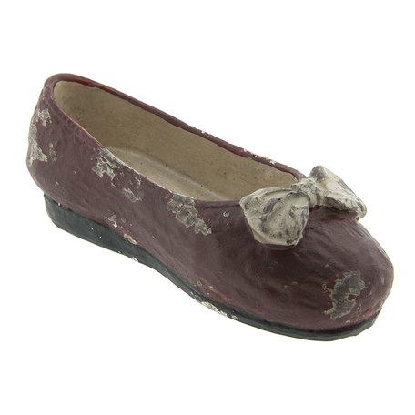 Decoratie schoen 15*5*5 cm Rood | 6PR2211 | Clayre & Eef