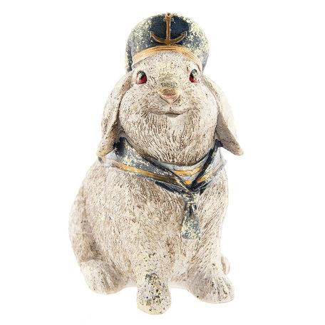 Decoratie konijn 16*11*18 cm Bruin | 6PR2309 | Clayre & Eef