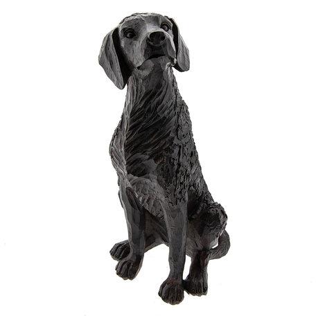 Hond zittend 15*13*28 cm Bruin | 6PR2325 | Clayre & Eef