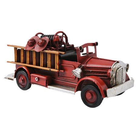 Model auto 16*6*7 cm Rood | 6Y2462 | Clayre & Eef