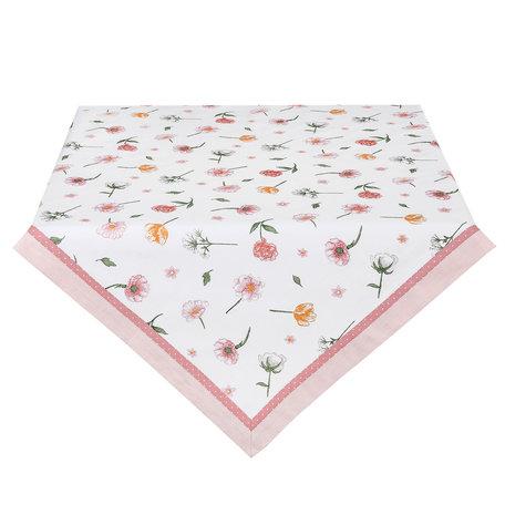 Tafelkleed 100*100 cm Wit | ASD01 | Clayre & Eef
