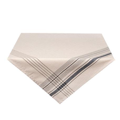 Tafelkleed 100*100 cm Zwart | CES01Z | Clayre & Eef