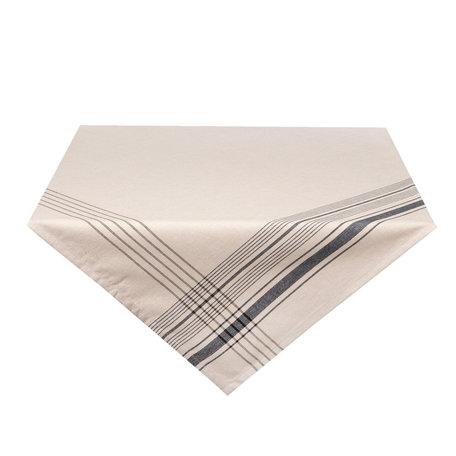 Tafelkleed 150*150 cm Zwart | CES15Z | Clayre & Eef
