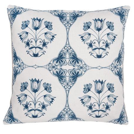 Kussenhoes 40*40 cm Blauw | CHA21 | Clayre & Eef