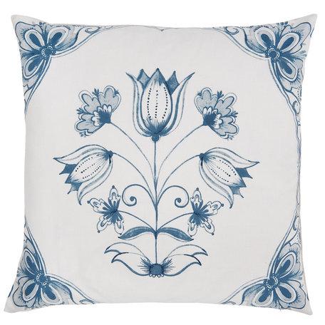 Kussenhoes 50*50 cm Blauw | CHA30 | Clayre & Eef