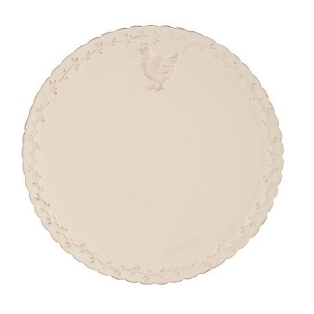 Klein bord ø 21 cm Roze   CHRDP   Clayre & Eef