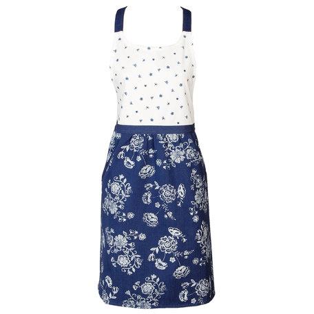Keukenschort 70*85 cm Blauw | DED41A | Clayre & Eef