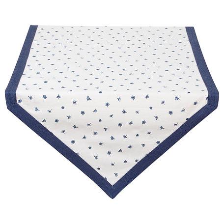 Tafelloper 50*160 cm Blauw | DED65 | Clayre & Eef