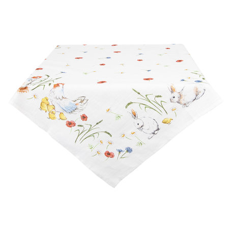 Tafelkleed 100*100 cm Multi | EAS01 | Clayre & Eef