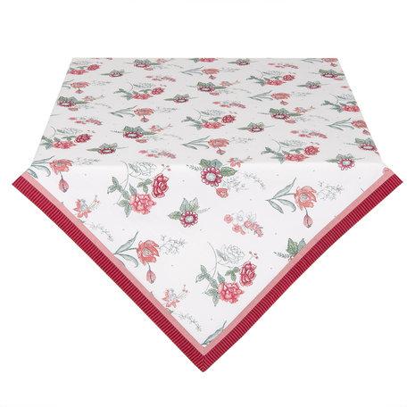 Tafelkleed 100*100 cm Rood | EVF01 | Clayre & Eef
