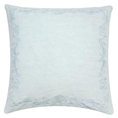 Kussenhoes 50*50 cm Blauw | FRF30BL | Clayre & Eef