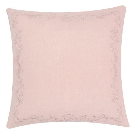 Kussenhoes 50*50 cm Roze | FRF30P | Clayre & Eef