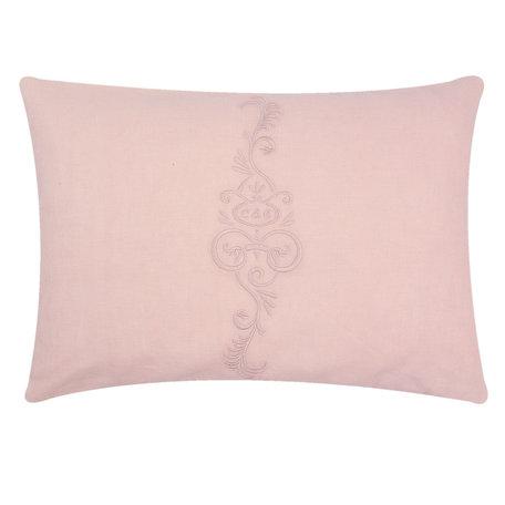 Kussen incl. vulling 35*50 cm Pink   FRF36P   Clayre & Eef
