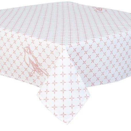 Tafelkleed 90*90 cm Roze | FY01 | Clayre & Eef
