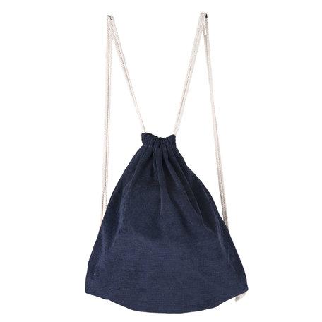 Rugzak 30*40 cm Blauw | JZBG0155BL | Clayre & Eef