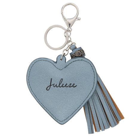 Sleutelhanger  Blauw | JZKC0033BL | Clayre & Eef