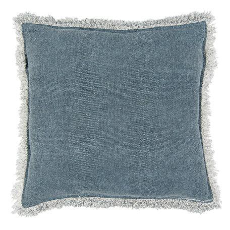 Kussen gevuld 45*45 cm Blauw | KG023.025PE | Clayre & Eef