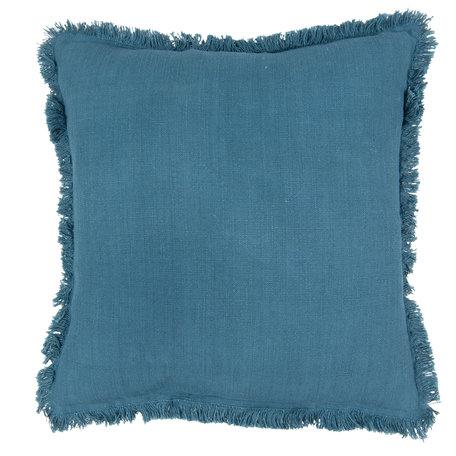 Kussen gevuld 45*45 cm Blauw | KG023.026BL | Clayre & Eef