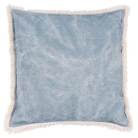 Kussen gevuld 45*45 cm Blauw | KG023.033BL | Clayre & Eef