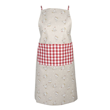 Keukenschort 70*85 cm Rood | LCH41R | Clayre & Eef