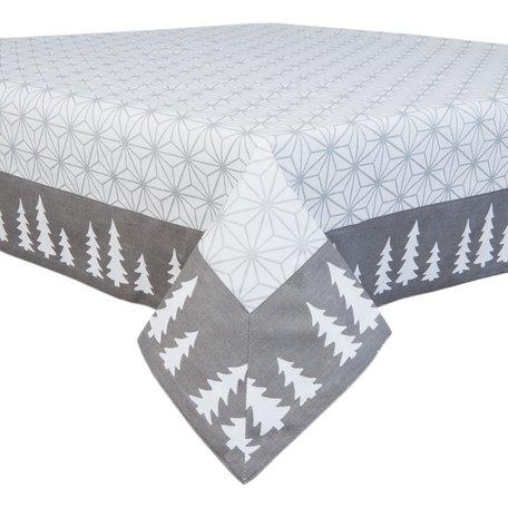 Tafelkleed 100*100 cm Grijs | LSH01 | Clayre & Eef