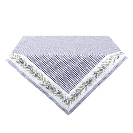 Tafelkleed 100*100 cm Blauw | OLG01BL | Clayre & Eef