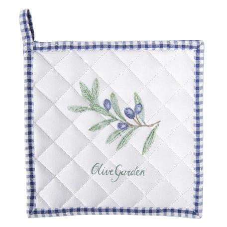 Pannenlap 20*20 cm Blauw | OLG45BL | Clayre & Eef