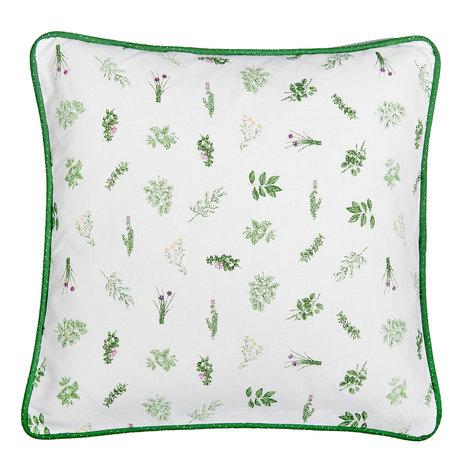 Kussenhoes 40*40 cm Groen | ROS21 | Clayre & Eef