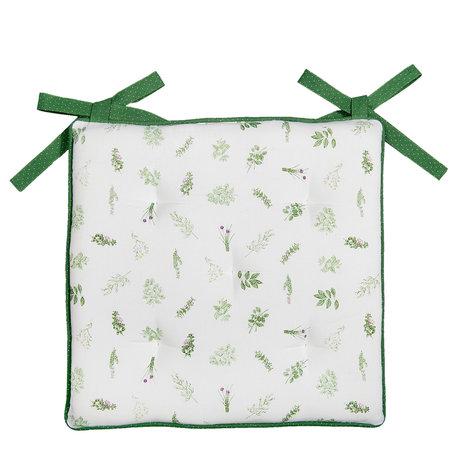 Kussen met foam 40*40 cm Groen | ROS29 | Clayre & Eef