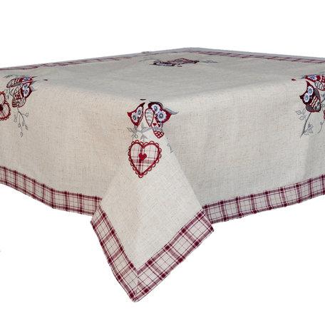 Tafelkleed 85*85 cm Beige | S016.001 | Clayre & Eef