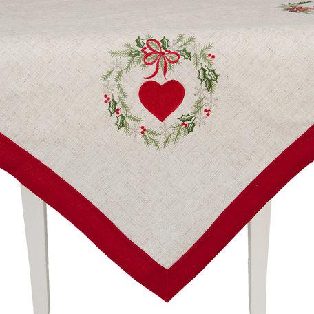 Tafelkleed 85*85 cm Rood | S021.001 | Clayre & Eef