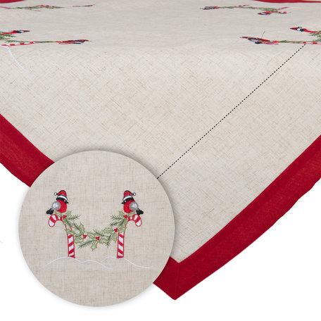Tafelkleed 85*85 cm Rood | S023.001 | Clayre & Eef