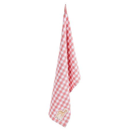 Keukendoek 50*85 cm Roze | SWD42C-2 | Clayre & Eef